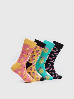 Strumpor - Happy Socks 4-pack Socks Fruits 3000