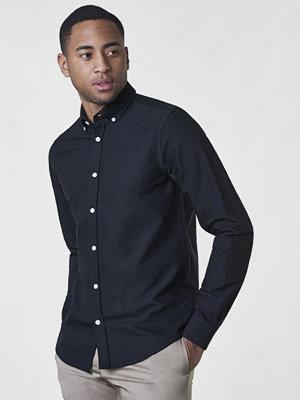 Skjortor - Studio Total Malcom Oxford Shirt Black