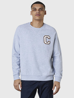 Calvin Klein Kamus C Badge Sweat Light Grey