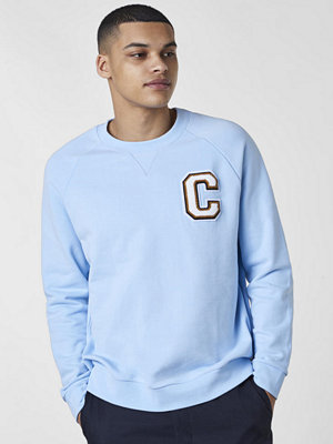 Calvin Klein Kamus C Badge Sweat Cerulean