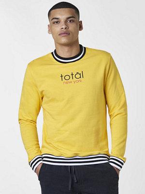 Studio Total Oliver Total Stripe Rib Crew Yellow