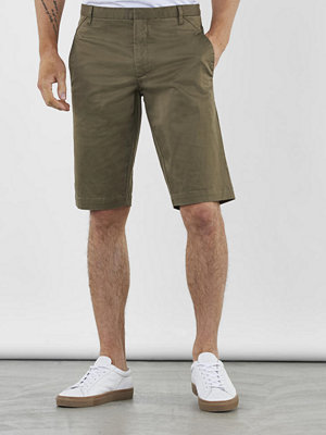 Shorts & kortbyxor - Whyred Cron Satin Stretch Shorts Capers