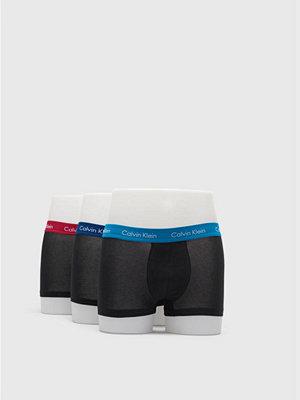 Calvin Klein Underwear 3-pack Cotton Stretch Lowrise GHY Black