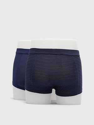 Frank Dandy 2-pack Bamboo Trunk Dark Navy/Stripe Dark Navy