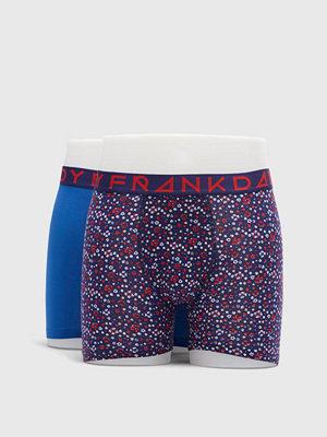 Frank Dandy 2-pack Blume Boxer Navy/Classic Blue