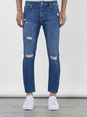 Jeans - William Baxter Toby Cropped GreyBlue