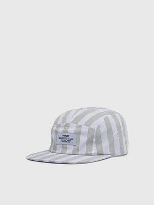 Kepsar - WESC Striped 5 Cap Light Turquoise
