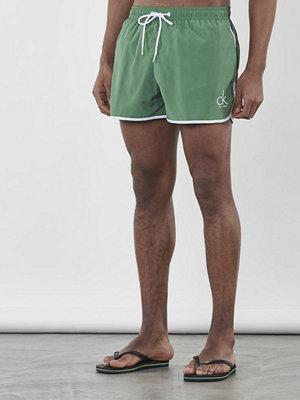 Badkläder - Calvin Klein Underwear CK NYC Short Runner 309 Green