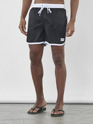 Frank Dandy St Paul Long Bermuda Shorts Black