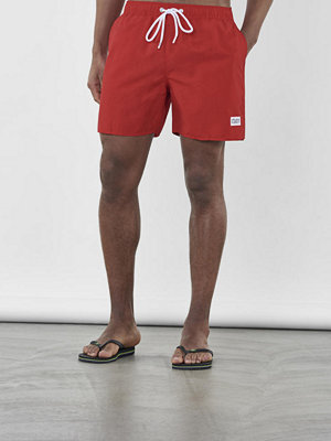 Frank Dandy Breeze Long Bermuda Swim Red