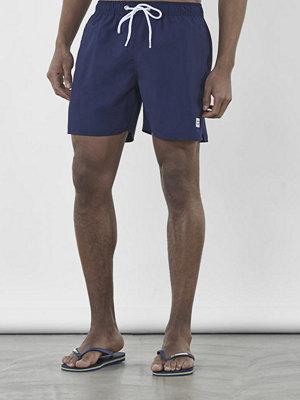 Badkläder - Frank Dandy Breeze Long Bermuda Swim Dark Navy
