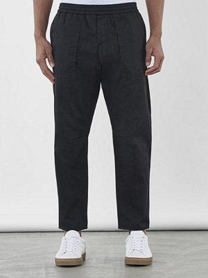 Byxor - Filippa K Utility Cotton Pants Black