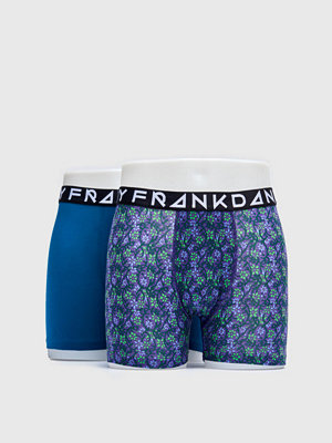 Frank Dandy 2-pack Blom Boxer Purple/Petrol
