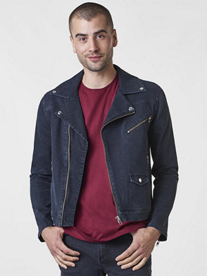 Jeansjackor - William Baxter Hoffman Denim Biker Black