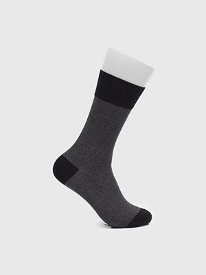 Strumpor - Topeco Dot Mercerized Cotton Socks Black