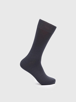 Strumpor - Topeco Mercerized Cotton Socks Antracit Melange
