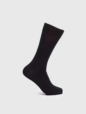 Strumpor - Topeco Mercerized Cotton Socks Black