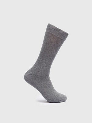Strumpor - Topeco Nos Cotton Socks Grey Melange