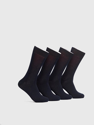 Strumpor - Topeco 4-pack Cotton Socks Navy