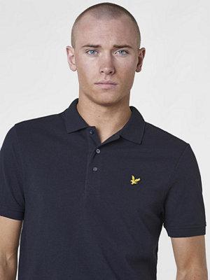 Pikétröjor - Lyle & Scott Plain Polo Shirt 572 True Black