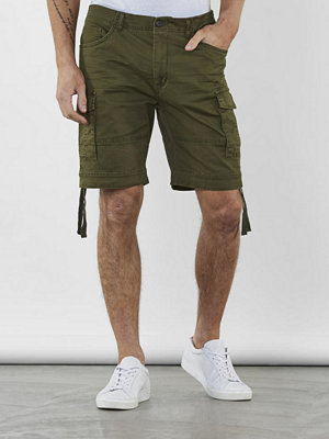 Shorts & kortbyxor - William Baxter Lodge Cargo Shorts Army green