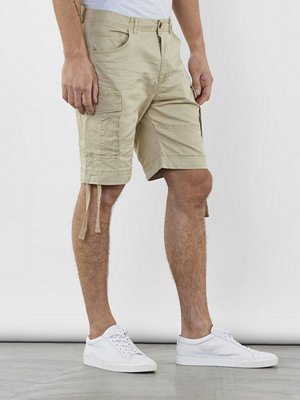Shorts & kortbyxor - William Baxter Lodge Cargo Shorts Beige