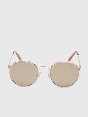 Solglasögon - Le Specs Revolutions Gold/Gold