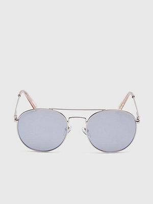 Solglasögon - Le Specs Revolutions Silver/Silver