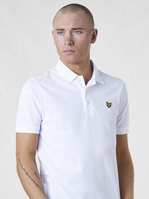 Pikétröjor - Lyle & Scott Plain Polo Shirt 626 White