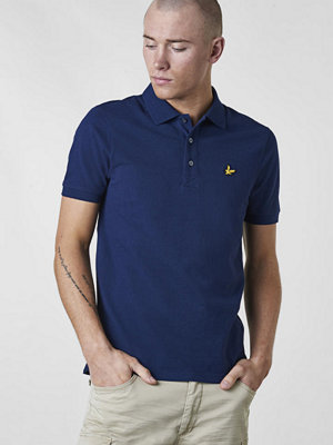 Pikétröjor - Lyle & Scott Plain Polo Shirt Z99 Navy