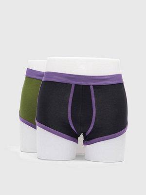 Kalsonger - Kim Denzler 2-pack Classic Underwear 8122 Black-Purple/Green-Purple