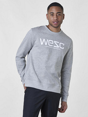 Tröjor & cardigans - WESC WeSC Sweatshirt Grey Melange