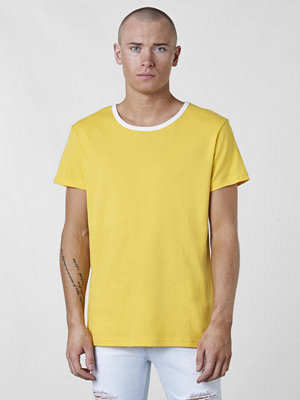 T-shirts - Somewear Rib Tee Yellow