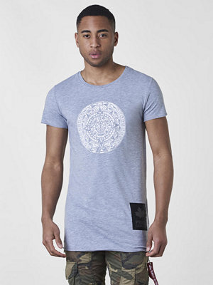 T-shirts - Proud Canadian Circle Tee Grey Melange