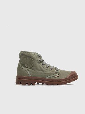 Sneakers & streetskor - Palladium Pampa HI Vetiver