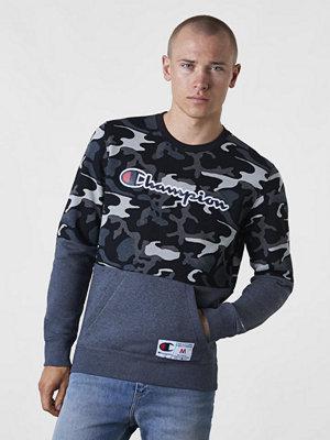 Tröjor & cardigans - Champion Champion Block Sweatshirt Camo/Black