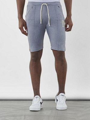 Shorts & kortbyxor - YMR Track Club Street Track Shorts Grey Melange