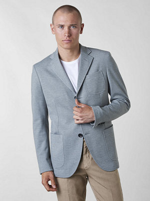 Kavajer & kostymer - Studio Total Herbert Jersey Blazer Light Grey