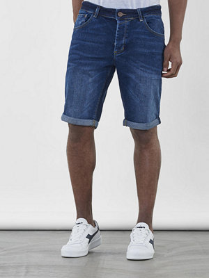 Shorts & kortbyxor - Gabba Jason Denim Short RS1097 Mid Blue