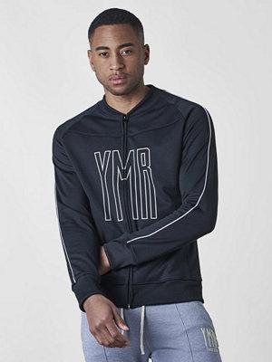 YMR Track Club Brooklyn Bomber Jacket Black