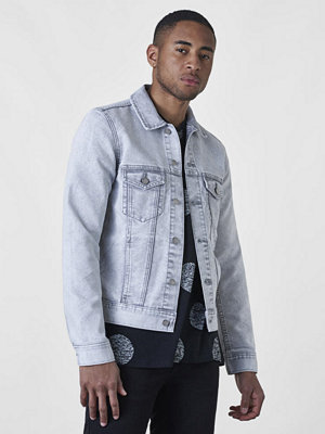 Jeansjackor - Dr. Denim Dwight Jacket Dirty White