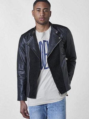 Skinnjackor - William Strouch Leather Jacket Black