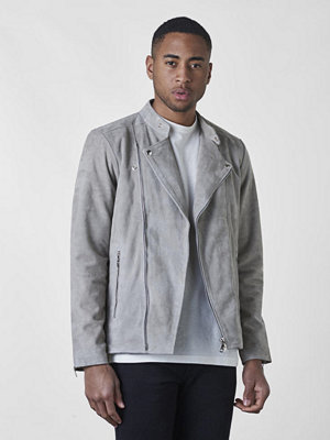 Skinnjackor - William Strouch Suede Jacket Grey