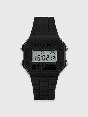 Klockor - Superdry Retro Digi 201B Black
