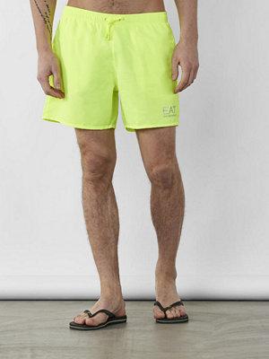 Badkläder - Armani Sea World Core Swim Shorts Yellow