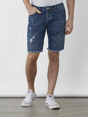 Shorts & kortbyxor - Gabba Jason Denim Short RS1100 Used destroyd
