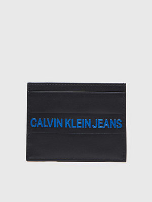 Plånböcker - Calvin Klein Logo Stripe Cardcase Black