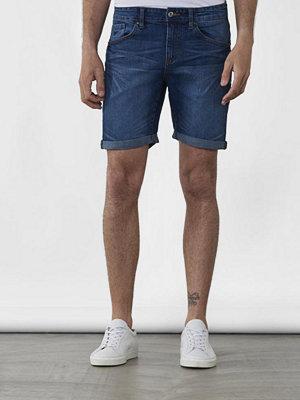 OWEN & SONS Jones Denim Shorts Mid Blue