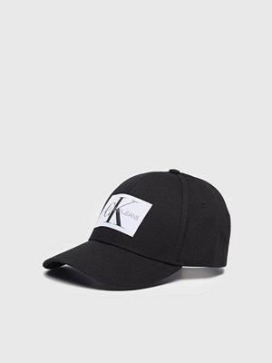 Kepsar - Calvin Klein Monogram Baseball Cap Black Beauty