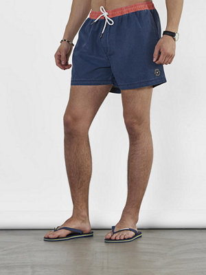Badkläder - Sons of Owen Paul Swim Shorts Blue